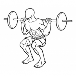 Squat col Bilanciere