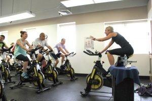 allenamento con lo spinning